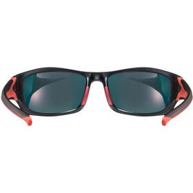 UVEX Sportstyle 211 Pola Sportglasses black matt red/mirror red